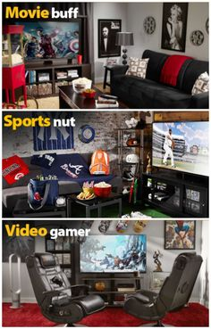 Ad. Man Cave Inspiration and Father's Day Gift Ideas | http://crazyadventuresinparenting.com/2014/06/man-cave-inspiration-and-fathers-day-gift-ideas.html