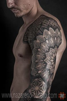 mandala sleeve tattoo for men - Google Search
