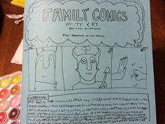 Comics I made with my 14 year old brother! Episode Online, 14 Year Old, Depressed, Comic Strips, Monsters, Brother, Comic Books, Comics, How To Make