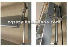 Adjustable customized sized aluminium exterior louver