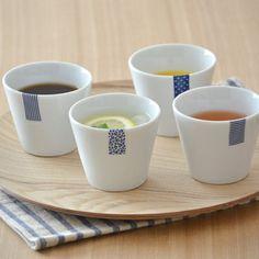【EASTLAB】ブルーラベルマルチカップフリーカップ/湯呑み/コップ/カップ/アウトレット食器/カフェ食器 Japanese Taste, Japanese Design, Pottery Mugs, Ceramic Pottery, Glaze Recipe, I Foods, Tea Cups, Blue And White, Plates