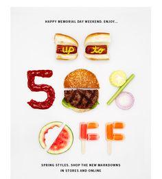 food design // Memorial Day Sale
