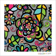 Cool app...Colorfy -(coloring book)  8/21/15.  (ar)..my first -fun :)