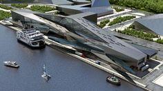 URBAN OFFICE ARCHITECTURE   MASTER PLANNING   KINMEN FERRY TERMINAL