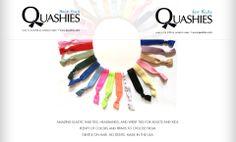 Quashies - Stretchable Hair Ties....