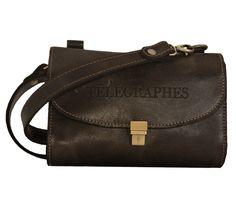Pochette télégraphiste Belt, Pouch Bag, Leather, Bag