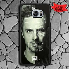 Breaking Bad Heisenberg And Jesse Samsung Galaxy S7 Edge Black Case