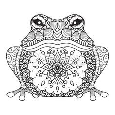 colouring pages mandala animals coloring pages coloring sheets little pagan acorns animal coloring pages color pages coloring page coloring pages for kids animals Frog Coloring Pages, Animal Coloring Pages, Printable Coloring Pages, Free Coloring, Coloring Pages For Kids, Coloring Books, Coloring Worksheets, Coloring Sheets, Mandalas Painting