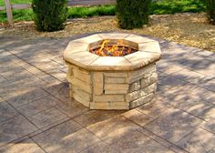 Project Yourself Outdoor Fireplace | Jill's Junction