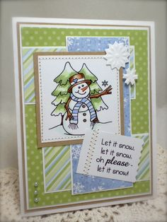 SFYTT - Snow Please!! by T. Joy - Cards and Paper Crafts at Splitcoaststampers