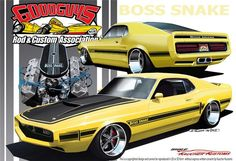 The Good Guy's boss Snake I designed in 2010, for their Grand Prize Give Away Car