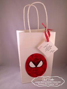 Spiderman Party Favor Bag