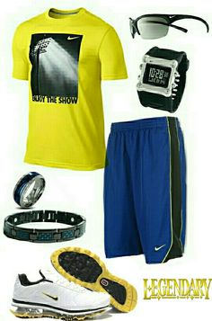 Mens fashion casual Nike outfit