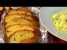 Pan De Ajo Para Pastas/Garlic Bread for pastas - YouTube