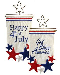 Patriotic Wall Hangings - Designs from Great Copy Star Spangled Everything! Wall Hanging Designs, Star Spangled, Wall Hangings, Blessed, Embroidery, Patterns, Happy, Home Decor, Block Prints