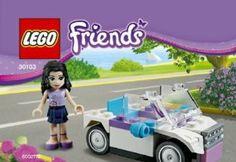 LEGO Friends Set #30103 Emmas Car by LEGO. $19.99. 32 pieces. 30103. Lego Friends Emma minifigure with car. Emma minifigure with white car. Building Toy