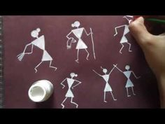 Warli Painting - different activities - YouTube