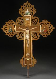 Russian Processional Cross