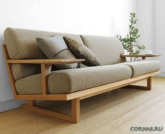24 Unique Sofa For Your Room Inspirations – Page 5 of 24 – SooPush – Haus Dekoration – Wooden Sofa Designs Wood Sofa, Couch Furniture, Living Room Furniture, Furniture Design, Wooden Couch, Furniture Outlet, Discount Furniture, Living Room Sofa Design, Living Room Designs