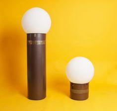 Mezza Oracolo & Oracolo Floor Lamps by Gae Aulenti for Artemide, 1970s, Set of 2
