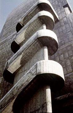 Unite dHabitation Le Corbusier (Swiss architect, 1887-1965) Poissy (Poissy sur Seine), Bouches-du-Rhone, France 1947-1952 (creation)