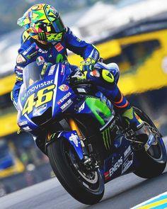 Valentino Rossi. Motorsport & Stuff MotoGP, Yamaha, Moto, VR46.