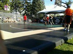 SpokaneChica @ Hoopfest @929zzu Nike Center Court - foursquare