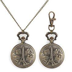 Sale Preis: Retro Europ?ischen Geb?ude Muster Metallic Schl¨¹sselbund Uhr / Halskette Uhr (1 St.) , Halskette Uhr. Gutscheine & Coole Geschenke für Frauen, Männer und Freunde. Kaufen bei http://coolegeschenkideen.de/retro-europischen-gebude-muster-metallic-schl%c2%a8%c2%b9sselbund-uhr-halskette-uhr-1-st-halskette-uhr