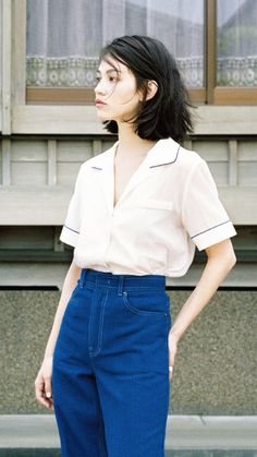 Kiko Mizuhara for Marie Claire Korea Magazine June 2015 edited by teammizuhara Looks Style, Style Me, Asian Fashion, Fashion Beauty, High Fashion, Outfits Con Camisa, Mode Renaissance, Look 80s, Style Parisienne