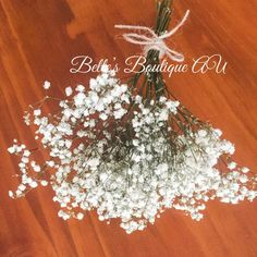 Dried Babys Breath, White preserved gypsophila, Dried flowers, natural florist craft supplies, bridal wedding flowers, babys breath bouquet This beautiful, air dried babys breath bouquet is perfect for home and wedding decor The delicate flowers are perfect on their own or can be used as a filler