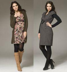 ef19fe7c25c WINTER MATERNITY DRESSES - Mansene Ferele