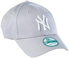 New Era Mlb Basic Ny Yankees Adjustable Grey – Casquette de Baseball –  Homme  Cette casquette New York Yankees League Basic… f8c07e577980