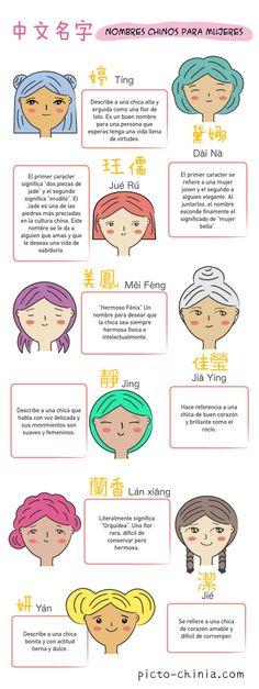 Nombres chinos para mujeres
