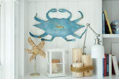 crab art from ironfish art