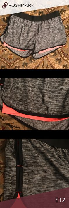 Practically new gym shorts Great shorts- just too big! Built in spandex. Layer 8 Other
