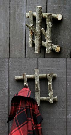 Build this simple coat hanger from recycled wood and add a dose of character to…