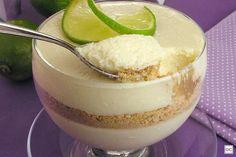 Lime Mousse Recipes, Lemon Mousse, Mousse Dessert, Portuguese Recipes, Portuguese Food, Creamed Eggs, Food Photo, Sweet Recipes, Deserts