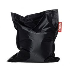 Fatboy Junior bean bag in black. Irresistible to any child the Fatboy Junior bean bag is a smaller version of the iconic Fatboy Original beanbag. The more compact size is perfect for a bedroom or playroom.