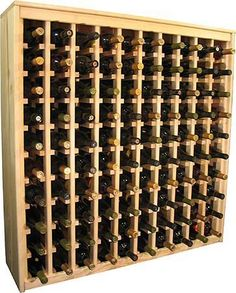 Woodworking Projects That Sell Woodworking Bench Plans, Woodworking Projects That Sell, Woodworking Basics, Woodworking Furniture, Wine Racks, Wine Bottle Storage, Wine Rack Furniture, Wine Rack Plans, Wine Cellar Basement