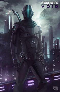 Keepers of The Void: Cobalt by Rob-Joseph.deviantart.com on @deviantART