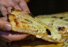 Receta de Masa de Pizza Sin Gluten Sencilla Gf Recipes, Pizza Recipes, Gluten Free Recipes, Healthy Recipes, Foods With Gluten, Sans Gluten, Food N, Food And Drink, Ricotta