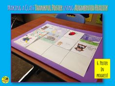 Using Augmented Reality in the Classroom: Thankfulness Comic