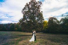 South Carolina Farm Wedding first look