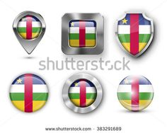 Find Central African Republic Metal Glass Flag stock images in HD and millions of other royalty-free stock photos, illustrations and vectors in the Shutterstock collection. Map Marker, Badge, Royalty Free Stock Photos, Flag, African, Metal, Illustration, Badges, Illustrations