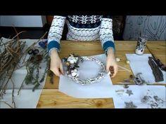 Hand Made. Пасхальный венок. Easter wreath. Мастер класс. - YouTube Diy Simple, Easter Wreaths, Needlework, Crafting, Make It Yourself, Sewing, Handmade, Dressmaking, Dressmaking