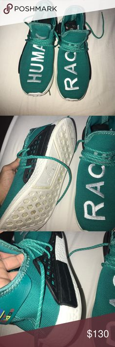 Human race adidas Little used.. shoes human race for men💙 adidas Shoes Sneakers