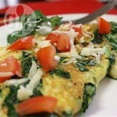 Omelette aux épinards @ allrecipes.fr