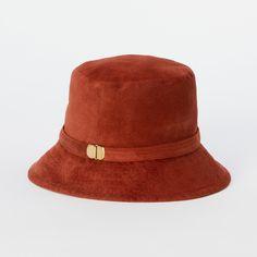 Brick Suede Bucket Hat at Terrain