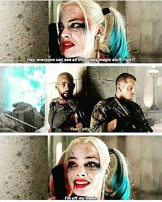 I've been obsessed with Harley Quinn since before the Suicide Squad movie. I can do impersonations of her, etc. to play her would be a dream come true!! Margot does such an excellent job though! However, I will hold onto that dream of someday being the Clown Princess of Gotham--the one who is sane, but chooses to be insane for Mista J.