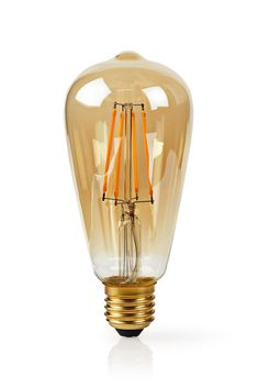 Combine modern day technology with classic looks with this Smart Filament Bulb. Love Is All, Light Bulb, Technology, Stars, Classic, Modern, Gold, Bulb Lights, Tecnologia